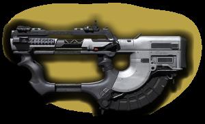 rifle-gun ripper smg/ar