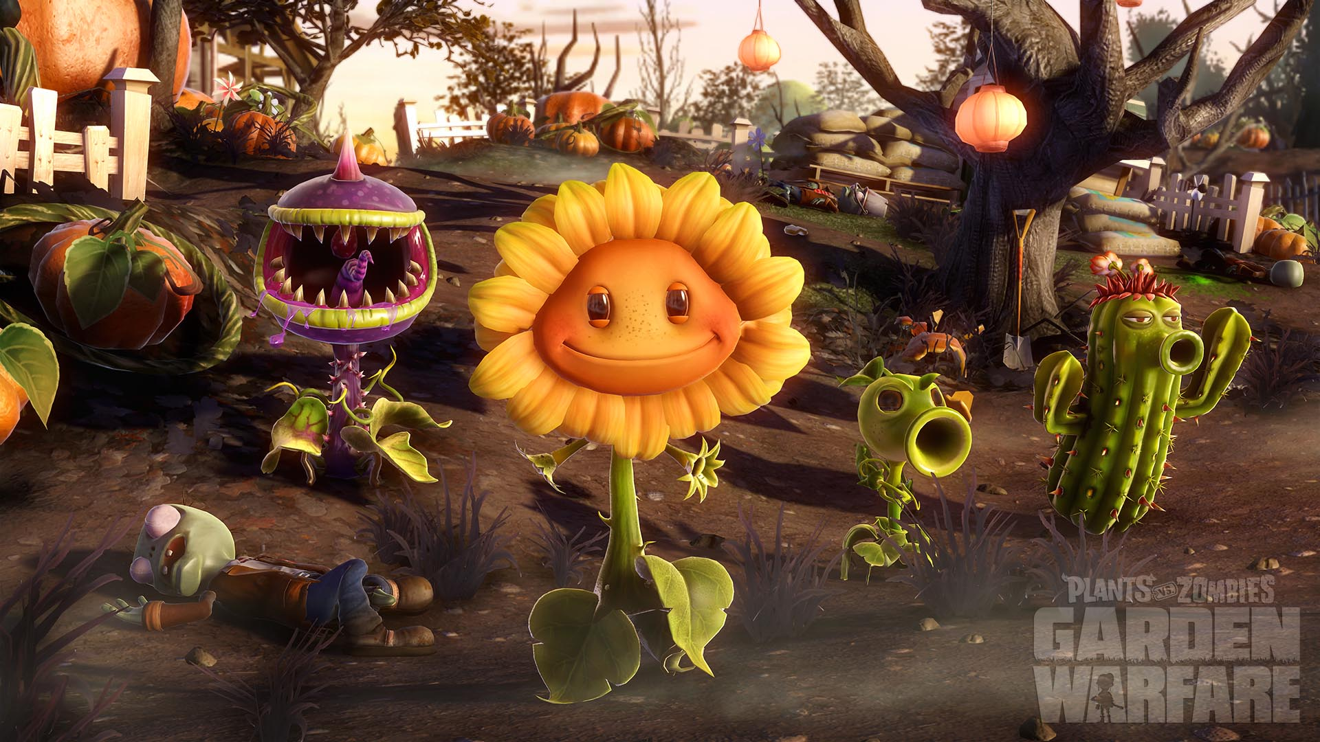 Plants vs zombies garden warfare game for Plante vs zombie garden warfare 2