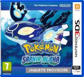 Pokemon Alpha Sapphire 3DS Jaquette
