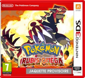 Pokemon Omega Ruby 3DS Jaquette