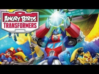 angry bird transformers