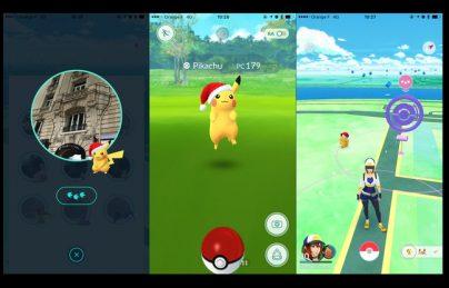 Pikachu Noel Pokemon Go